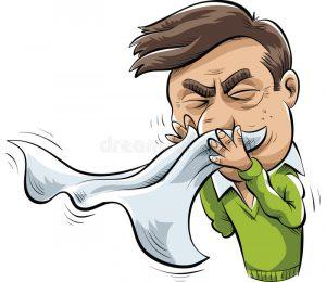 Частое чиханье, лечение в Баксане
