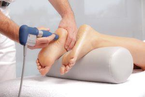 Ударно-волновая терапия пятки в Чегеме